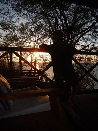 Secret Bay : Sunset from Balcony