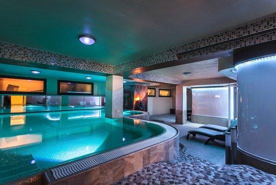 Area benessere con mini piscina idromassaggio sauna docce emozionali e bagno turco picture - Hotel cesenatico con piscina ...