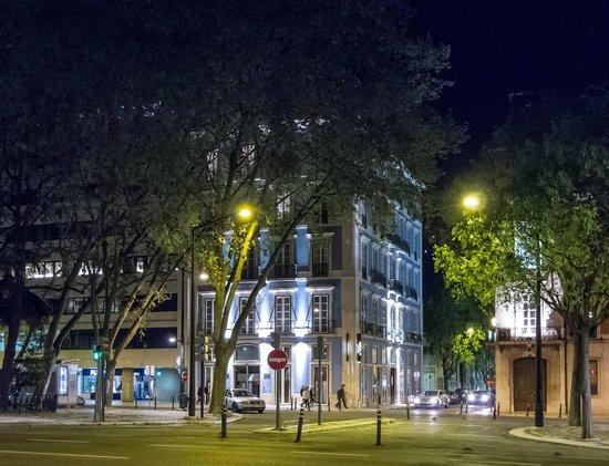 Heritage Avenida Liberdade: Nighttime view