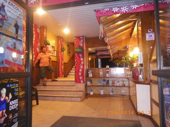 Tiare Tahiti Hotel: réception
