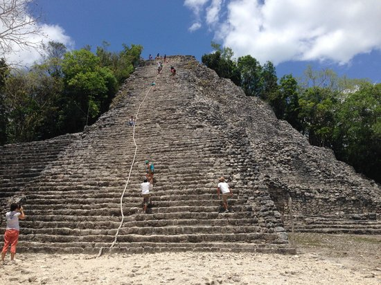 The Royal Haciendas All Suites Resort & Spa: Coba temple