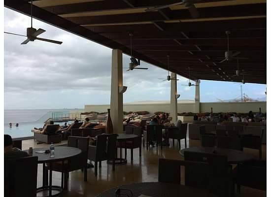 Hyatt Regency Trinidad: A shot of the pool area..