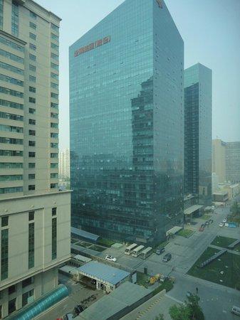Sheraton Grand Beijing Dongcheng Hotel: vista desde el hotel