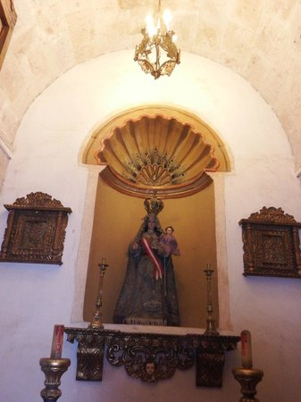 Casa Andina Premium Arequipa: Little chapel