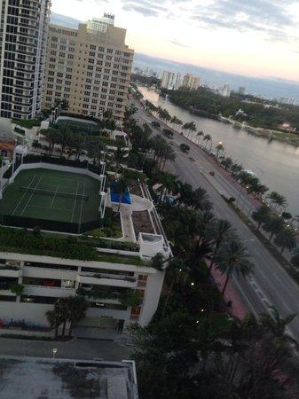Miami Beach Resort and Spa: panorama dalla camera
