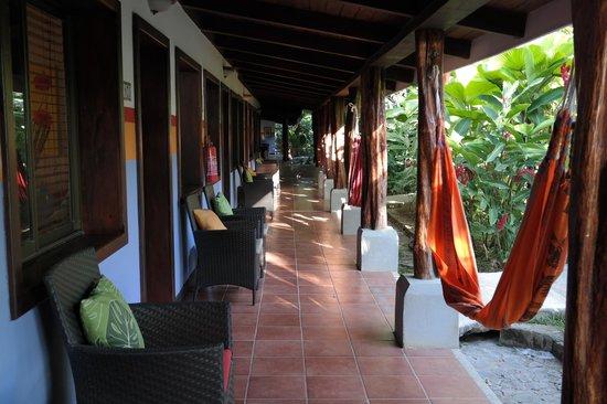"""Bahia del Sol Beach Front Boutique Hotel: """"Hallway""""!"""