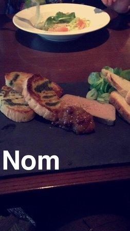 Le Bon Crubeen: Chicken liver parfait