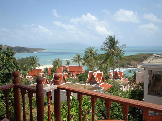 Q Signature Samui Beach Resort : view from the deluxe room