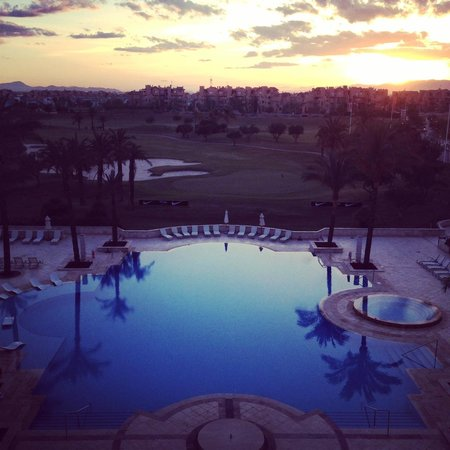 InterContinental Mar Menor Golf Resort & Spa: The views from our balcony were amazing