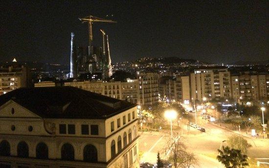 Eurostars Monumental : Vistas de la Sagrada Familia desde la penúltima planta