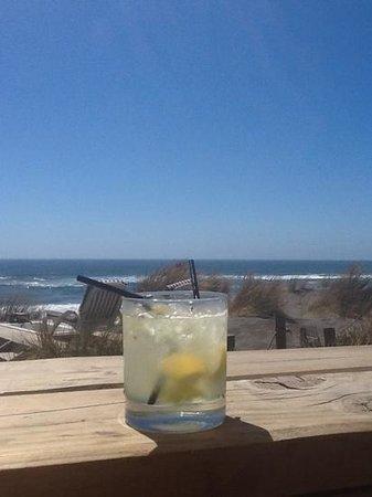 Pichilemu Surf Hostal : terrase view