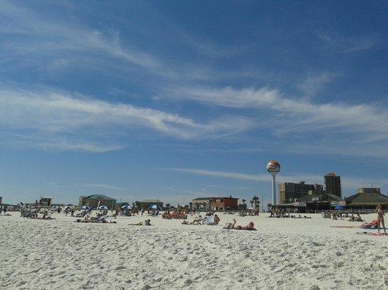 Holiday Inn Resort Pensacola Beach : Praia