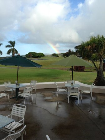 Kiahuna Golf from Joe's on the Green.  No charge for Rainbow