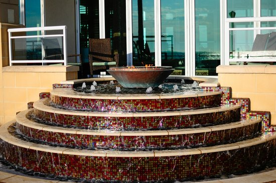 Oceanaire Resort Hotel: Fire pit
