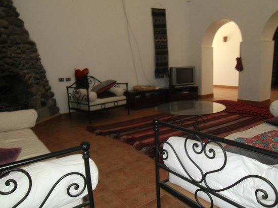 Nubian Holiday House Aswan: Gemütliche Sitzgelegenheit