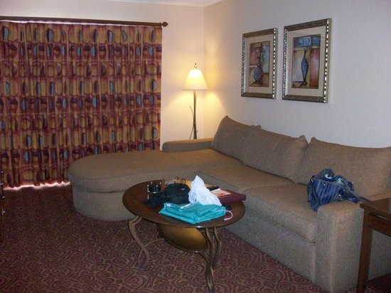 Living room at Desert Rose Resort