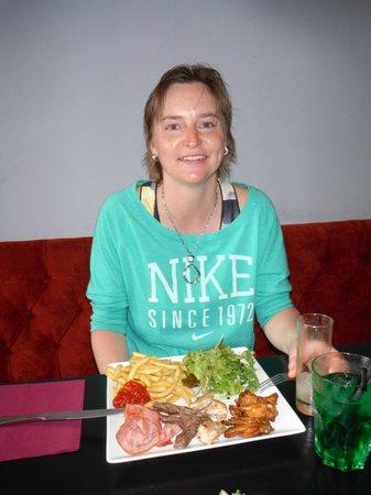 NOMAD Bar : lecker Essen
