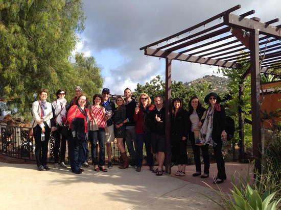 La Jolla Wine Tours San Diego Beer and Wine Tours: Our group