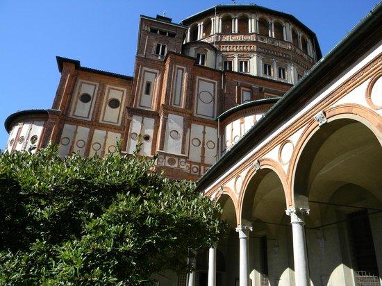 La Cène (Léonard de Vinci) : доминиканский монастырь Санта-Мария-делле-Грацие в Милане