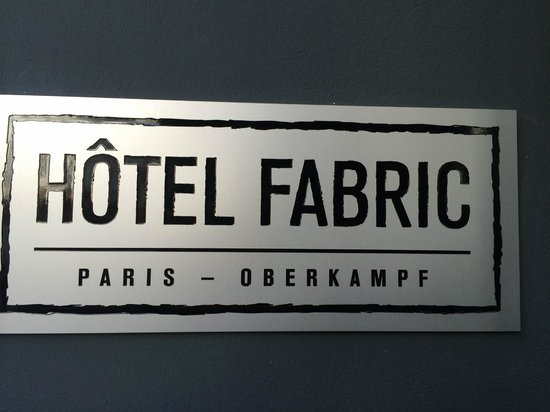 Hotel Fabric: Front of hotel