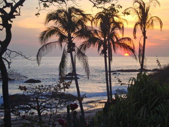 Casas Pelicano: seriously good sunset