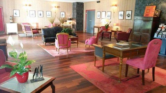 L'Assiette Champenoise : Leur superbe salon rose