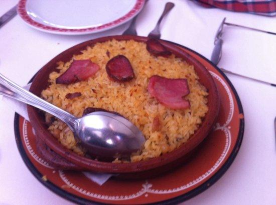 Zelia: Um belo arroz de pato, muito bom