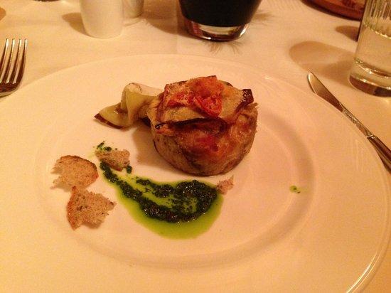 Hotel La Genzianella: Ужин
