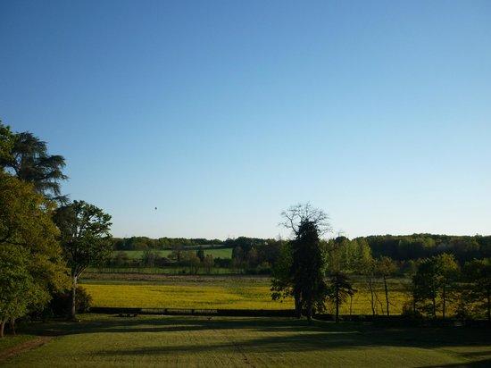 Chateau de Chanteloire : vue