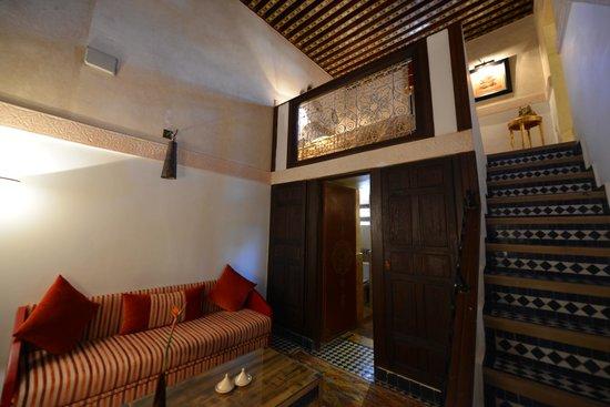 Riad Fes - Relais & Chateaux : Room, double decker...