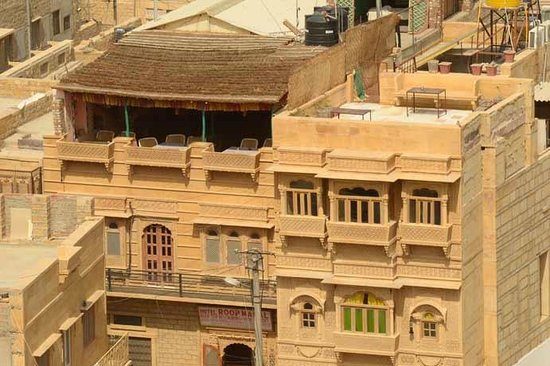 Hotel Roop Mahal: Roop mahal seen from the fort [using a tele lens]