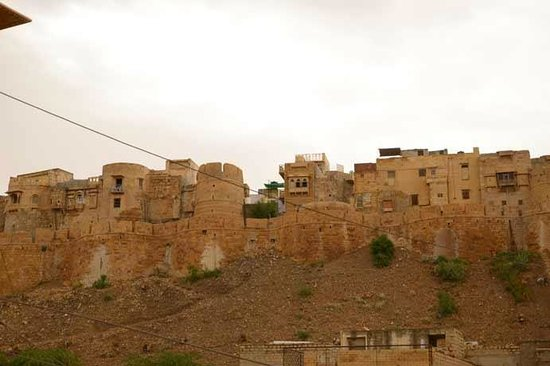 Hotel Roop Mahal: view of the fort from the room