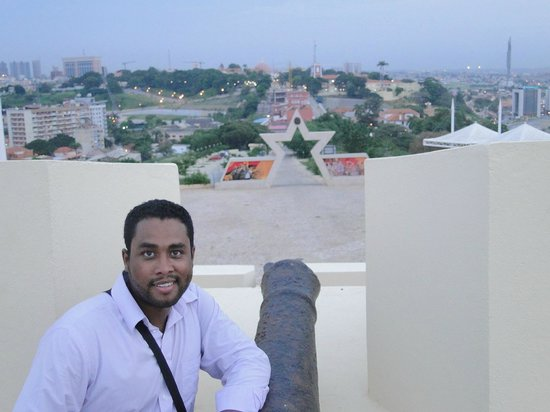 Fortaleza de Sao Miguel: Vista da entrada principal