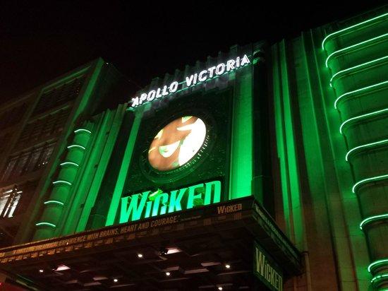 Wicked the Musical: Fachada del edificio
