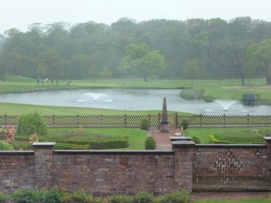 Carden Park Hotel: The view from the room