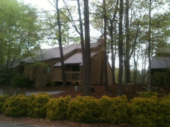 Wyndham Resort at Fairfield Mountains: Lovely setting