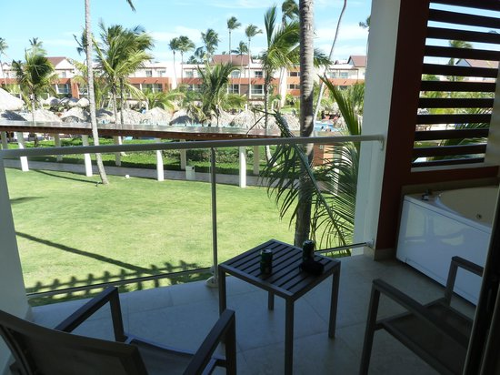 Breathless Punta Cana Resort & Spa : balcony