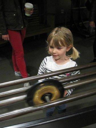 The Exploratorium : Wheel racing
