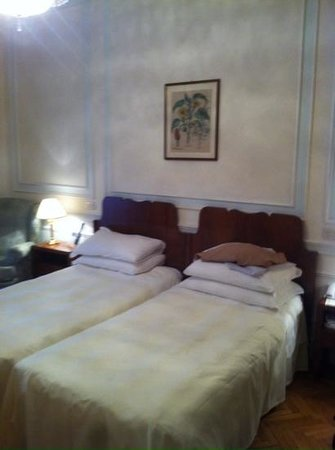 Quirinale Hotel: Double bed