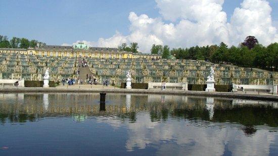 Parc de Sanssouci : giardino sanssouci