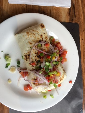 James' Breakfast and More: Burrito