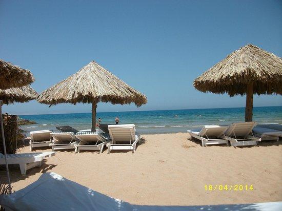 Jasmine Village Hotel : Strandabschnitt