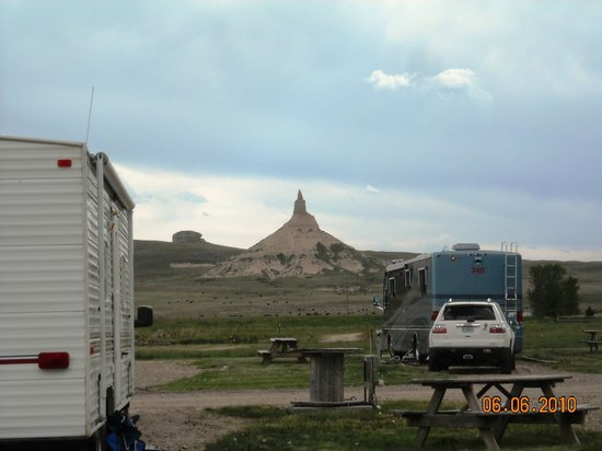 Chimney Rock National Historic Site: Breathtaking view of Chimney Rock