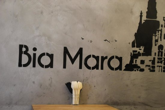Bia Mara : Restautant