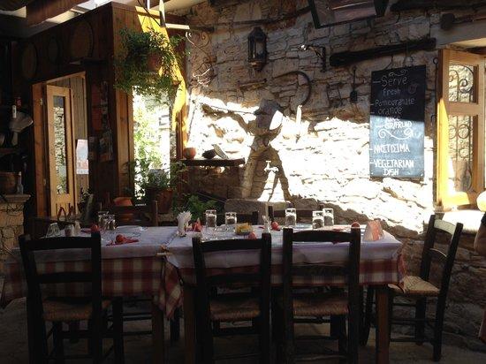 Lofou Taverna: Terrace Area