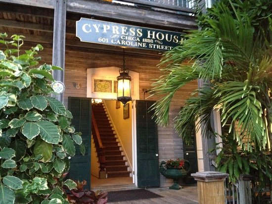 Cypress House Hotel : Key West: front doors