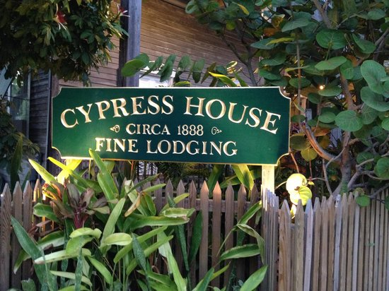 Cypress House Hotel : Key West: nicely landscaped