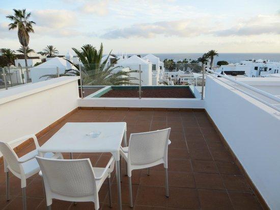 Gloria Izaro Club Hotel: Terasse