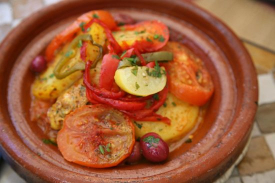 Restaurant Cafe La SQALA: Fish Tajin
