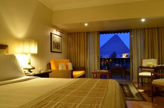 Mena House Hotel : Premiem Pyramids View